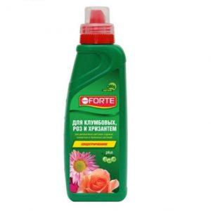Bona Forte для клумбовых роз и хризантем