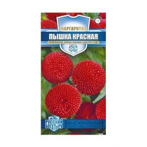 Семена Маргаритка Пышка красная 5 шт