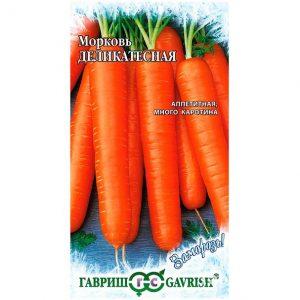 Семена Морковь Деликатесная 2г