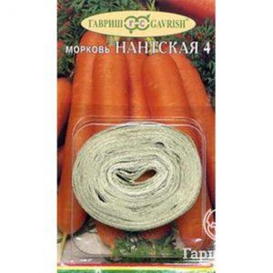 Семена Морковь на ленте Нантская 4 8 м