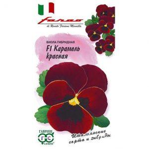 Семена Виола Карамель красная (Гавриш)